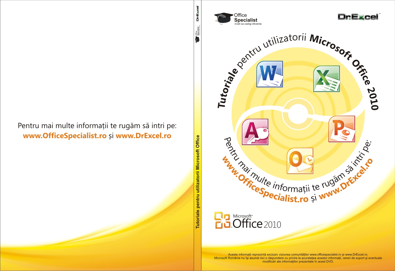 DVD Office 2010 Coperta