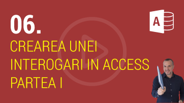 Crearea Unei Interogari in Microsoft Access