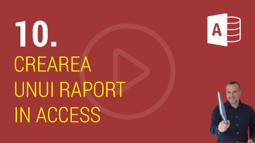 Crearea Unui Raport in Microsoft Access