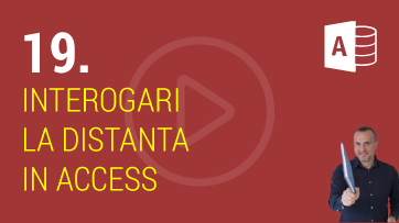 Interogari La Distanta (Pass-Through) in Microsoft Access