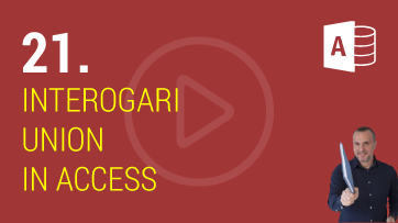 Interogari Union in Microsoft Access