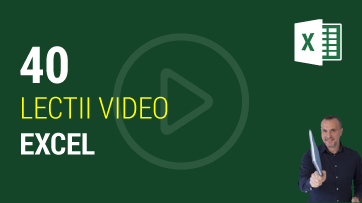 Lectii video Excel